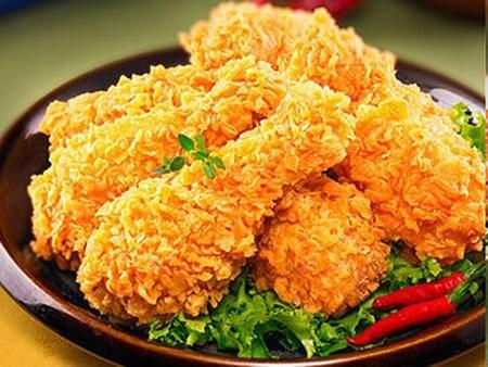 Cách chế biến món gà chiên ngũ cốc thơm ngon cho bé