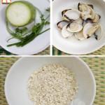 Cháo ngao (nghêu) nấu bầu và cháo ngao đậu xanh – 2 món ngon cho trẻ biếng ăn