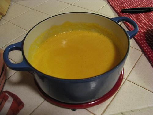 chế biến các món ăn dặm cho bé từ khoai lang 4