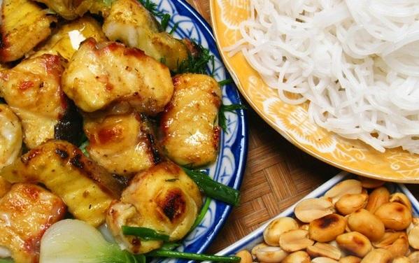 công thức nấu món chả cá Lã Vọng 14