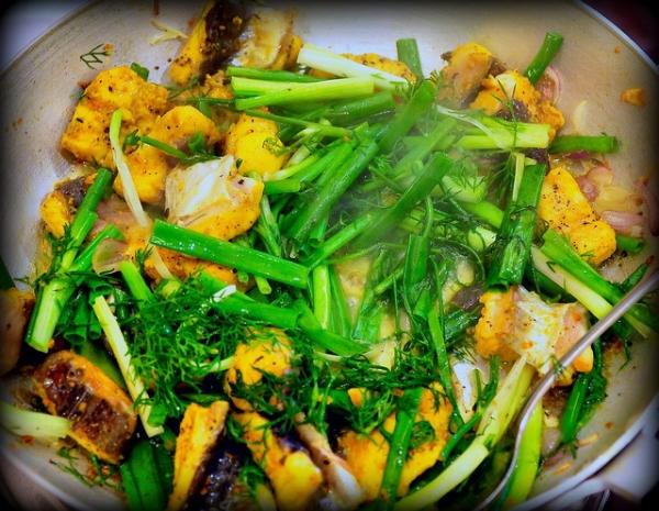 công thức nấu món chả cá Lã Vọng 16