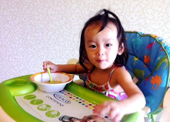 thực đơn ăn dặm và cháo dinh dưỡng cho bé 9 tháng tuổi 2