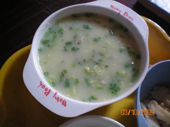 súp phô mai khoai tây lơ xanh