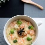 Cháo tôm phô mai bông cải – Món ngon cho bé giàu dinh dưỡng