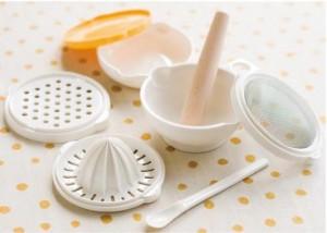 Tư vấn bộ dụng cụ chế biến món ăn và cho bé ăn dặm kiểu nhật đúng chuẩn