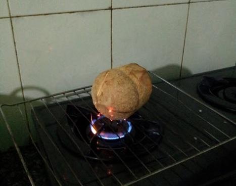 cách làm bánh flan trái dừa cho bé 4