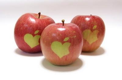 quả lê và táo xay