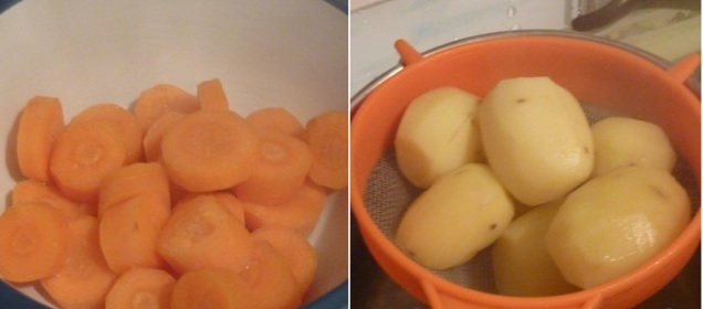 súp khoai tây cà rốt cho bé 1