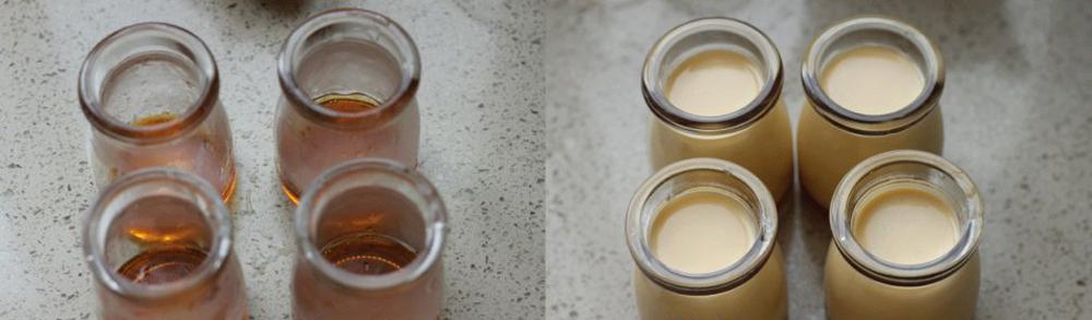 cách làm bánh flan bí đỏ 21