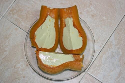 cách làm bánh flan bí đỏ 9