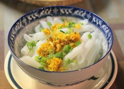súp nui gạo chả cua 9
