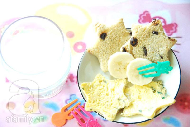 thực đơn bữa sáng đủ dinh dưỡng cho bé 4