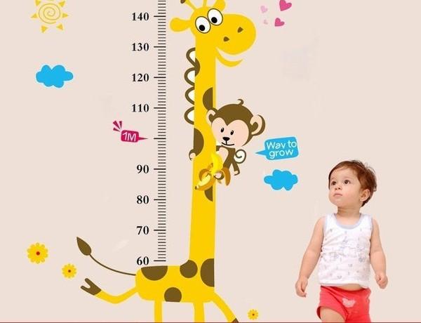 chuẩn chiều cao cân nặng của bé