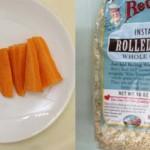 Món ngon dinh dưỡng cho trẻ biếng ăn: Cháo yến mạch cà rốt thịt bằm và yến mạch trái cây