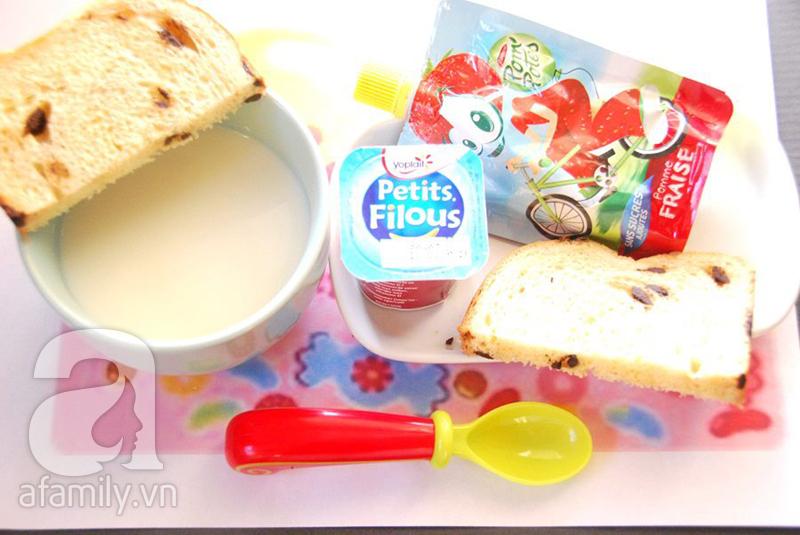 Gợi ý thực đơn bữa sáng cho bé theo kiểu Pháp và kiểu Nhật